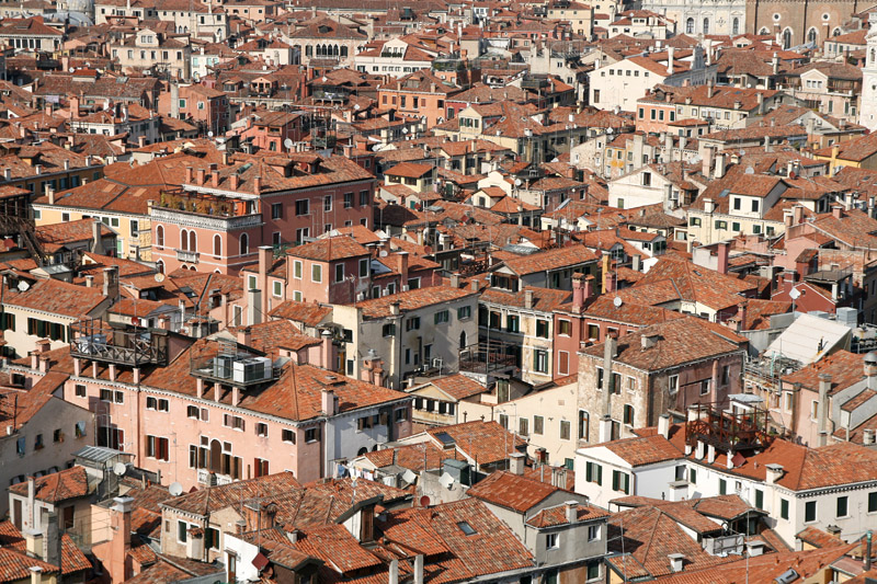 Venice roofs