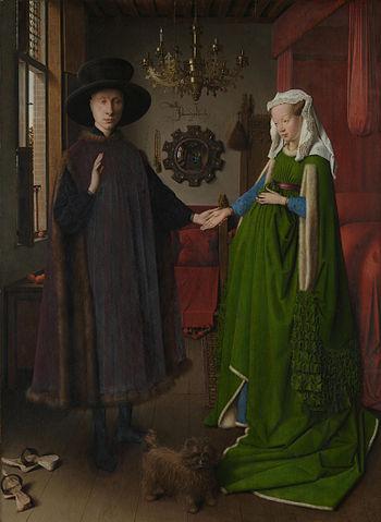 Arnolfini Portrait - Jan van Eyck