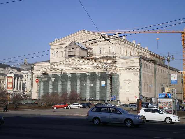 Bolshoi Theatre Restoration | Superchilum | CC BY-SA 3.0